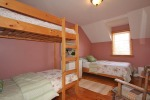 Bedroom with bunk beds at 453 Dobbie Road