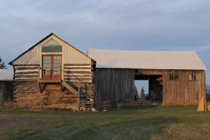 Yoga studio and barn at this Lanark, Ontario rural estate