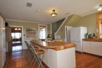 Large and sunny kitchen at 453 Dobbie